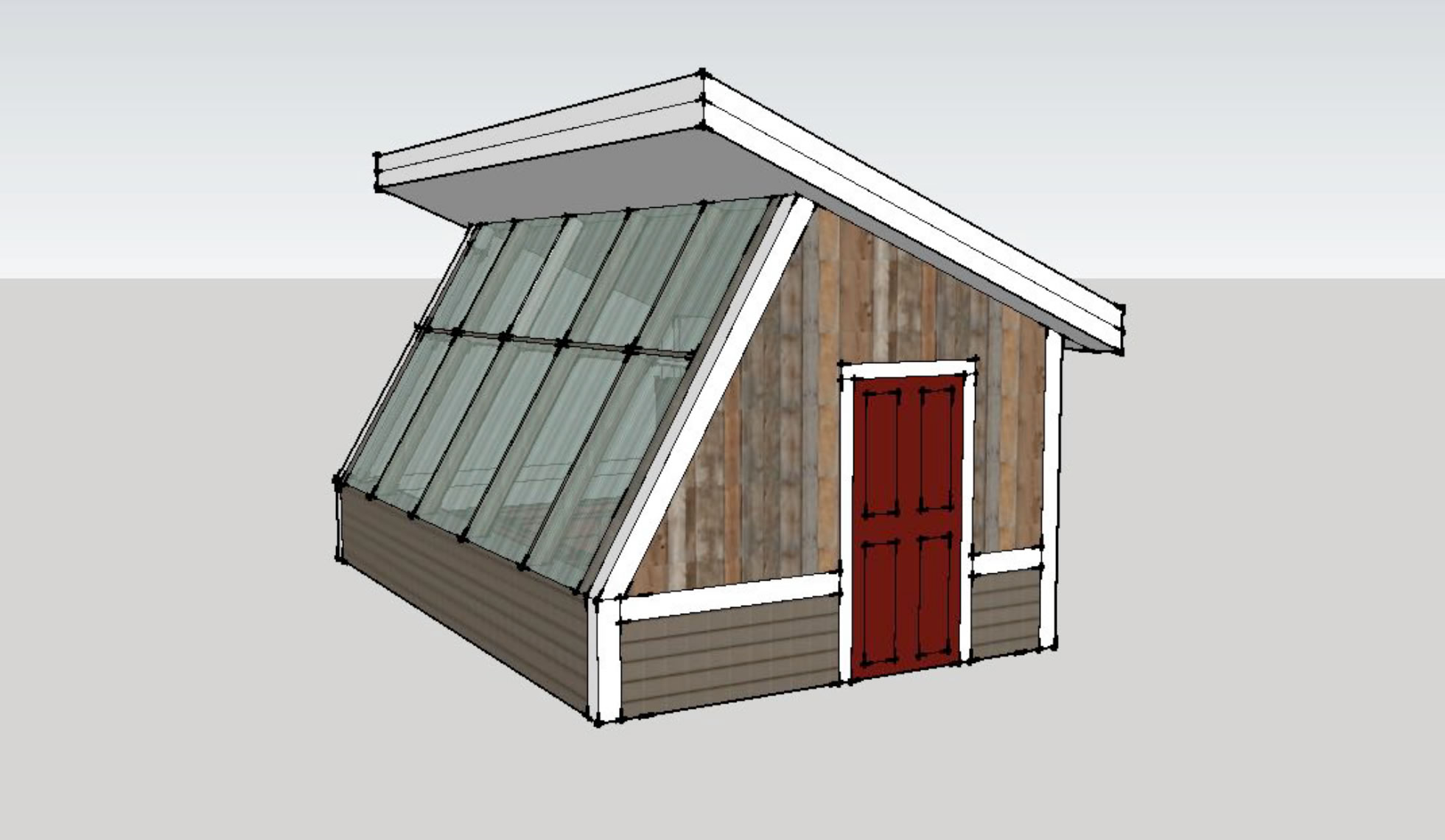 Passive solar design greenhouse design techniques Solar architect