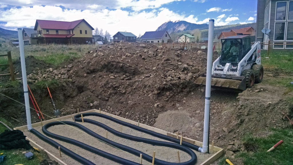 Climate Battery Installation in Crested Butte Colorado