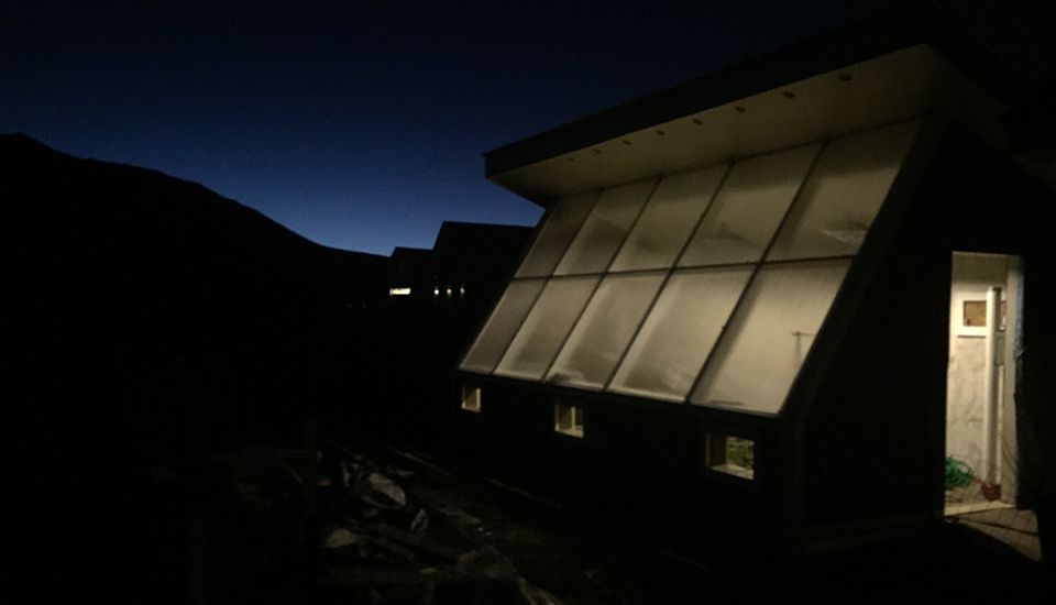 Passive Solar Design - Nightime